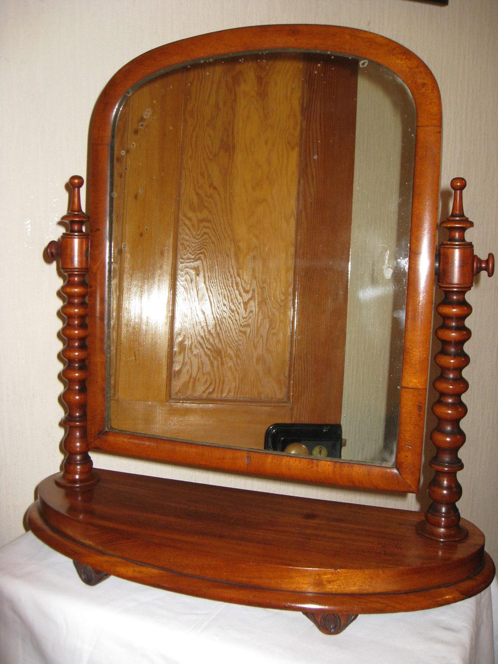 Antiques atlas mahogany dressing table mirror for Dressing mirror