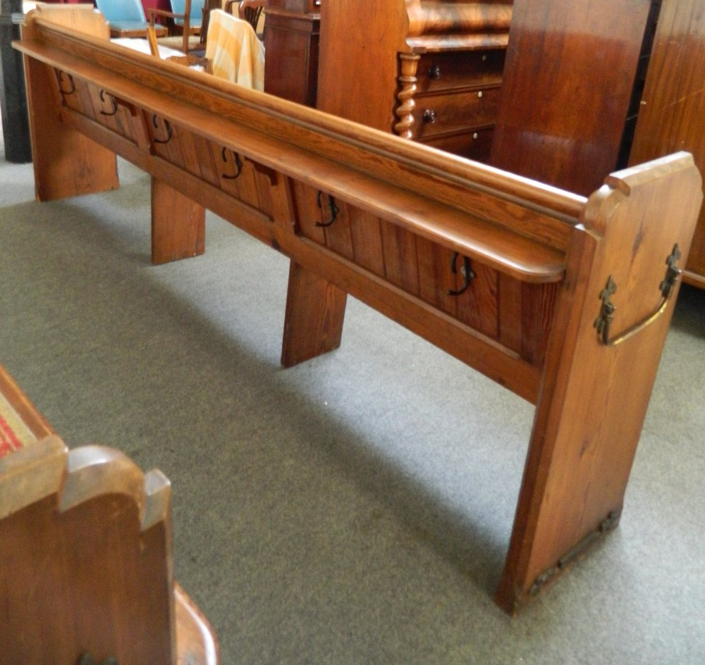 Long Pine Church Pews Antiques Atlas