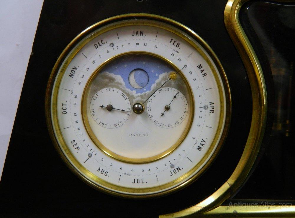 Antiques Atlas Perpetual Calendar Clock