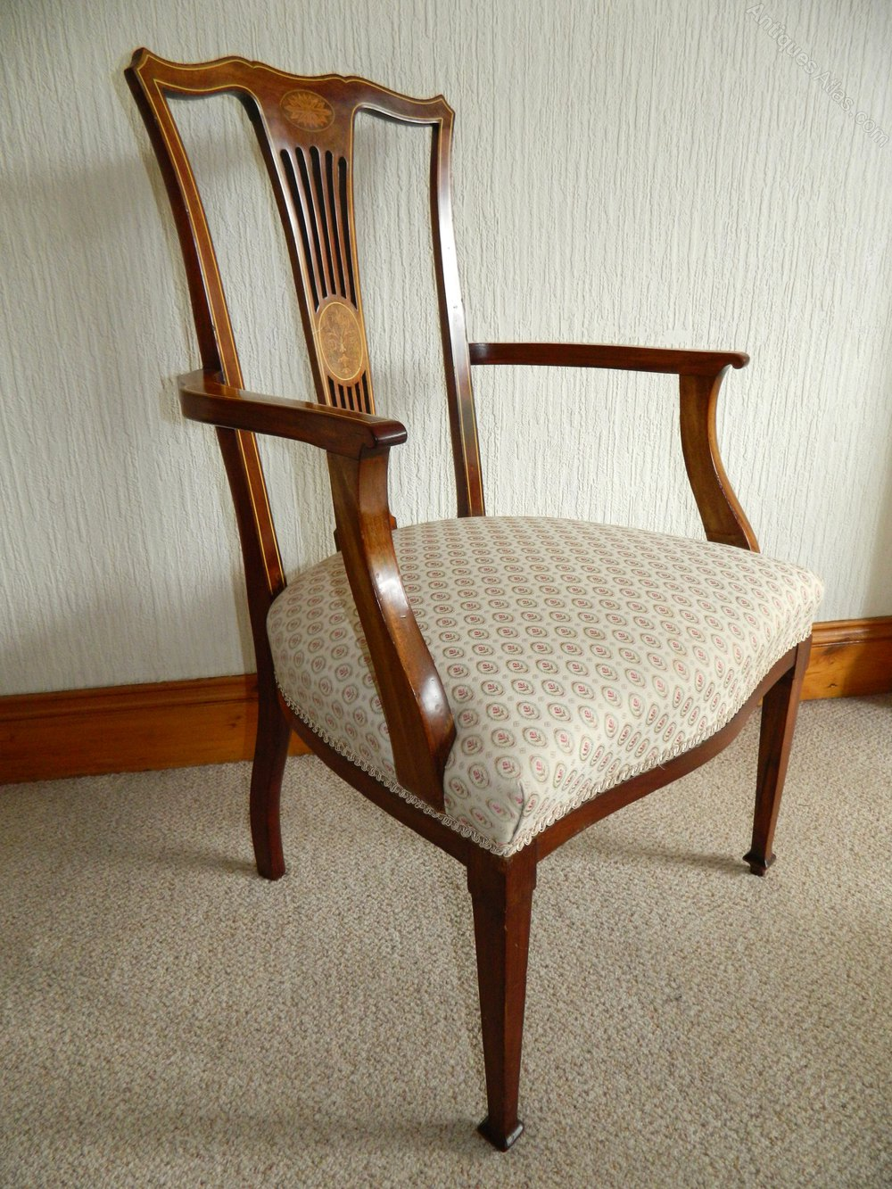 six mahogany dining chairs antiques atlas