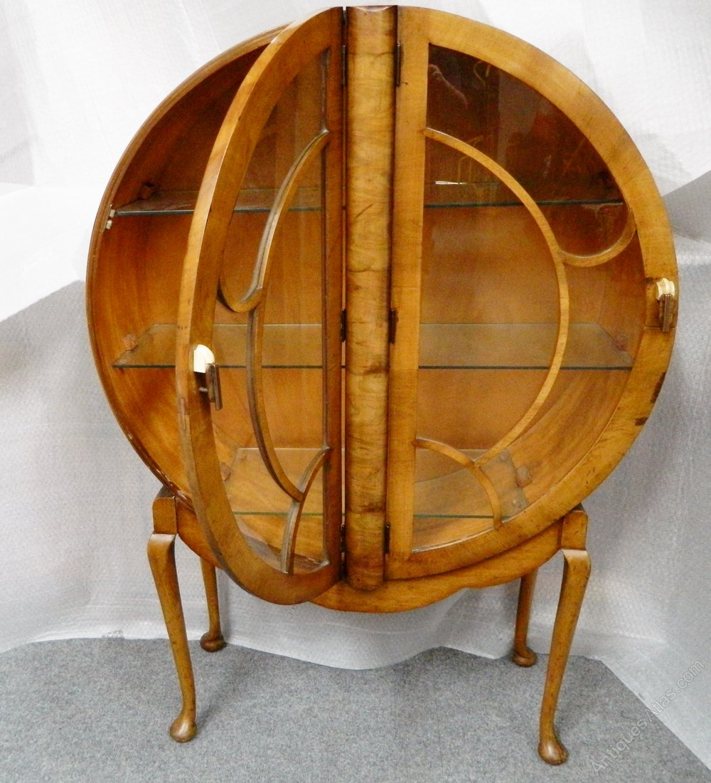 Unusual Circular Art Deco Cabinet Antiques Atlas