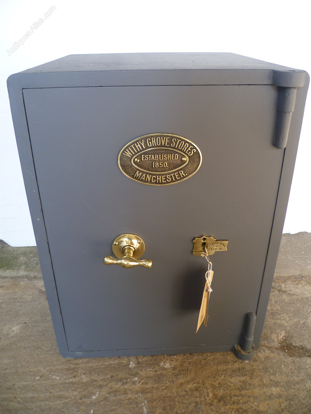 Antiques Atlas A Cast Iron Safe By Withy Grove Stores