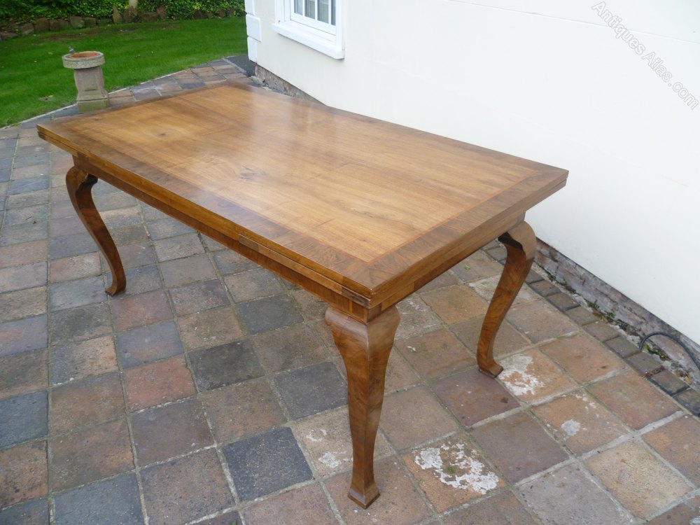 Antique french walnut dining kitchen table antiques atlas - Antique french dining tables ...