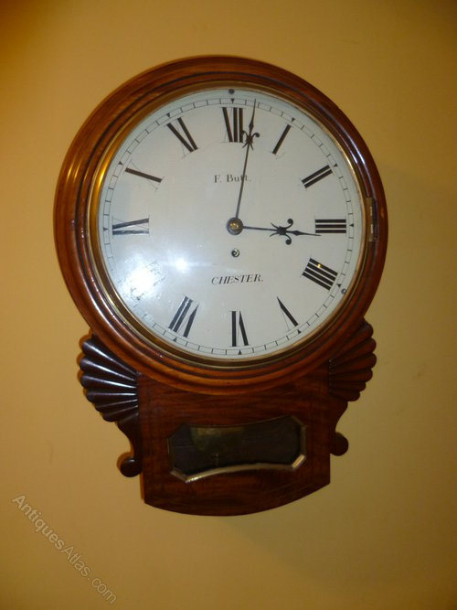 Antiques Atlas Victorian Fusee Wall Clock Chester