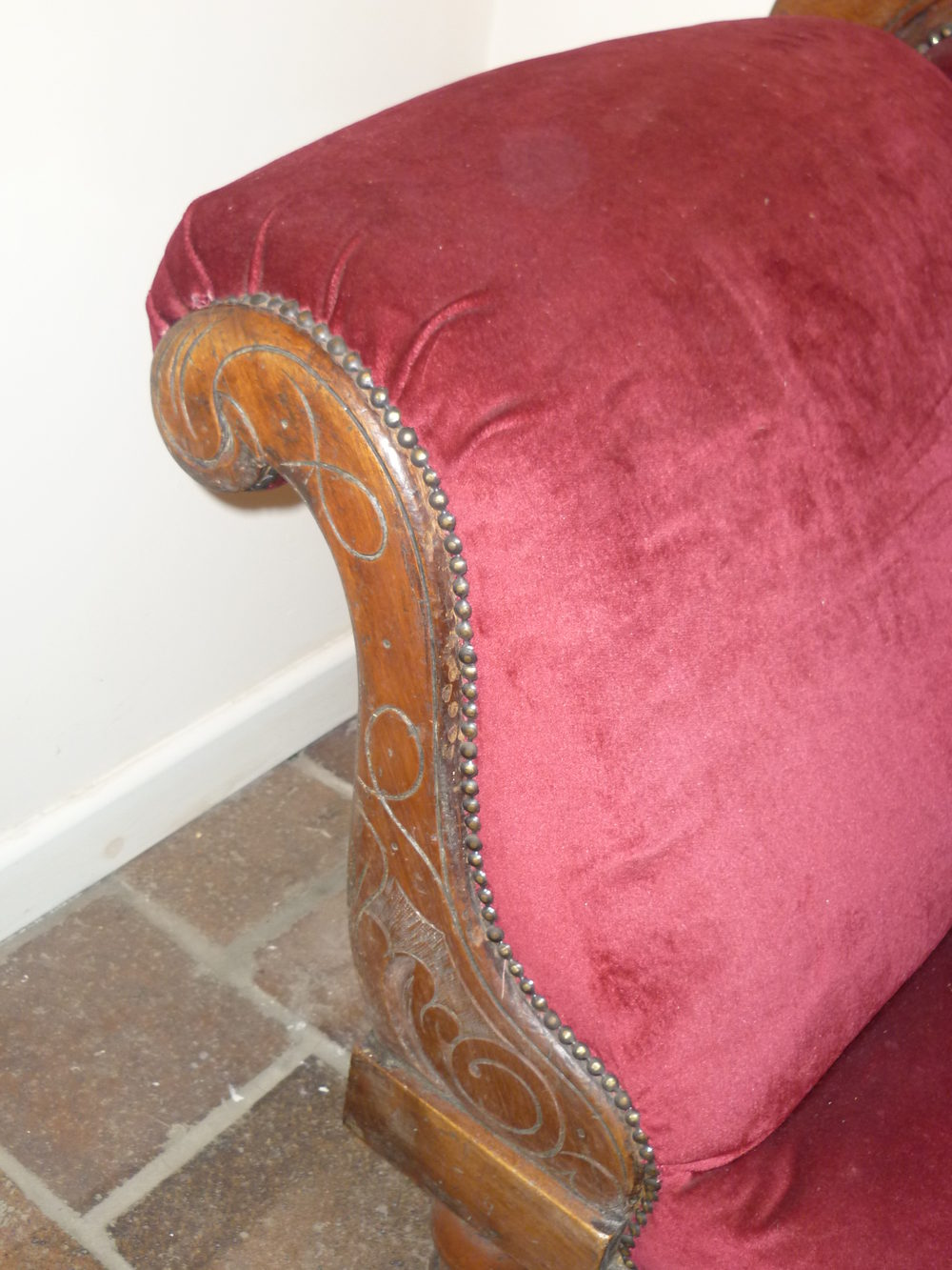 Victorian mahogany chaise longue antiques atlas for Antique chaise longues