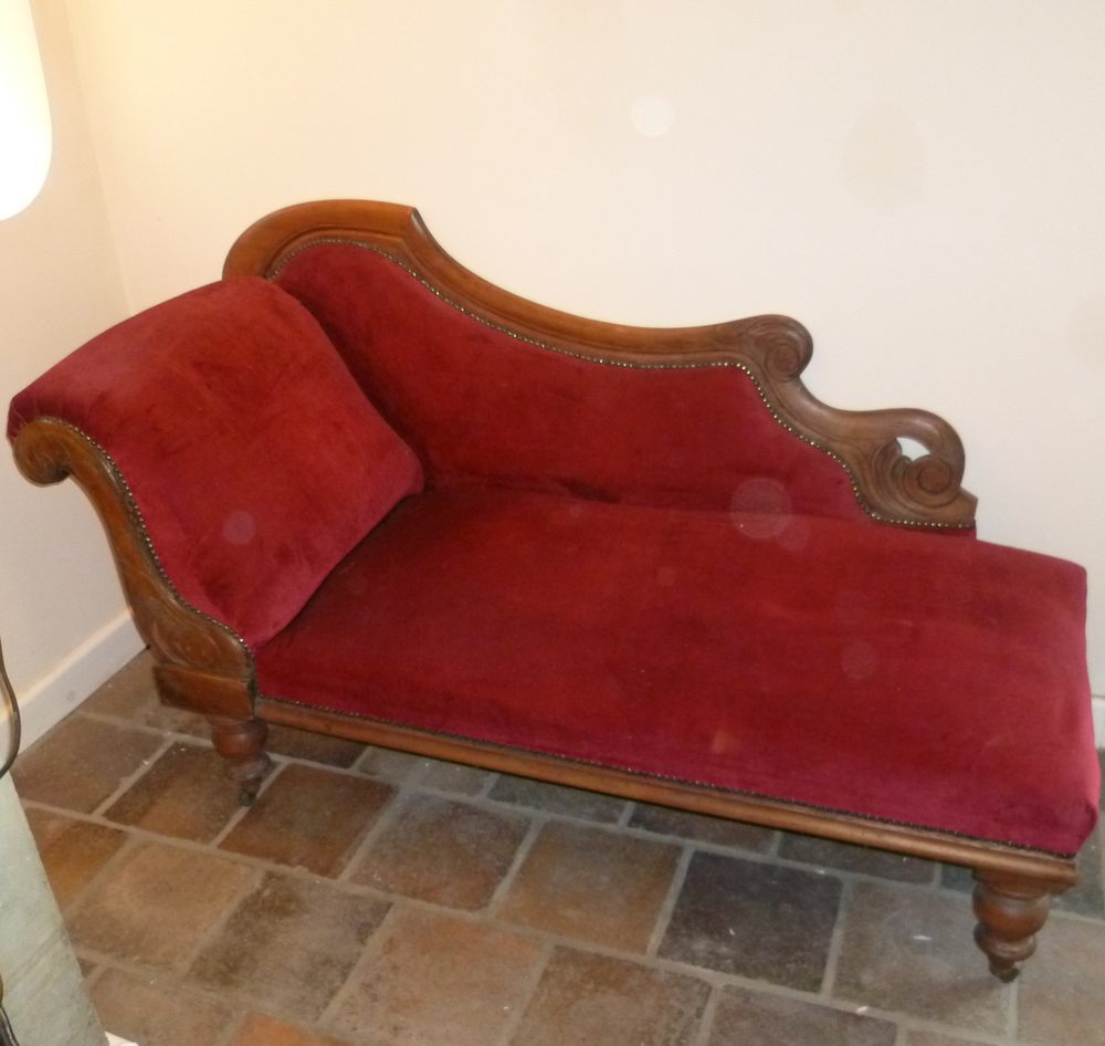 Victorian mahogany chaise longue antiques atlas for Antique chaise longue for sale