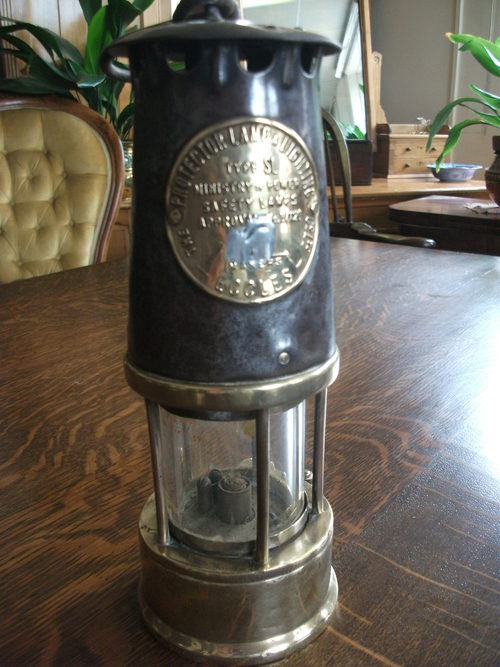 antiques atlas antique miners lamp. Black Bedroom Furniture Sets. Home Design Ideas