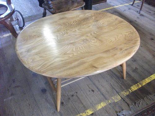 Ercol Elm Golden Dawn Coffee Table. Antiques Atlas   Ercol Elm Golden Dawn Coffee Table