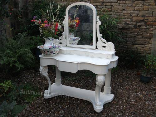 Victorian Mahogany Painted Duchess Dressing Table