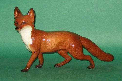 Antiques Atlas Beswick Fox Standing Model No 1016a