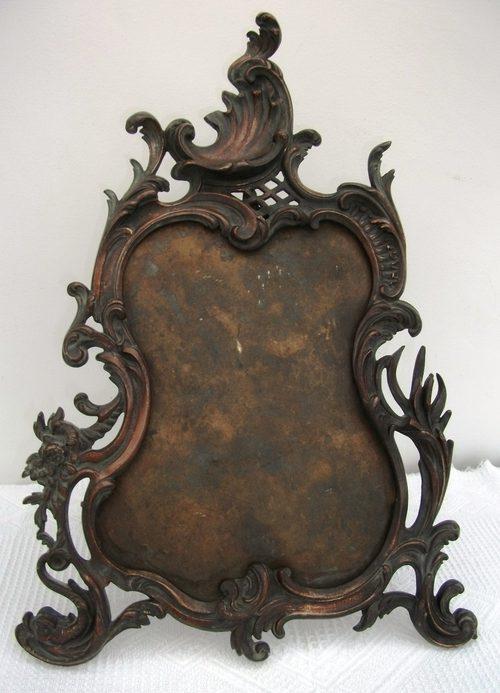 Antiques Atlas Antique Bronze Mirror Frame