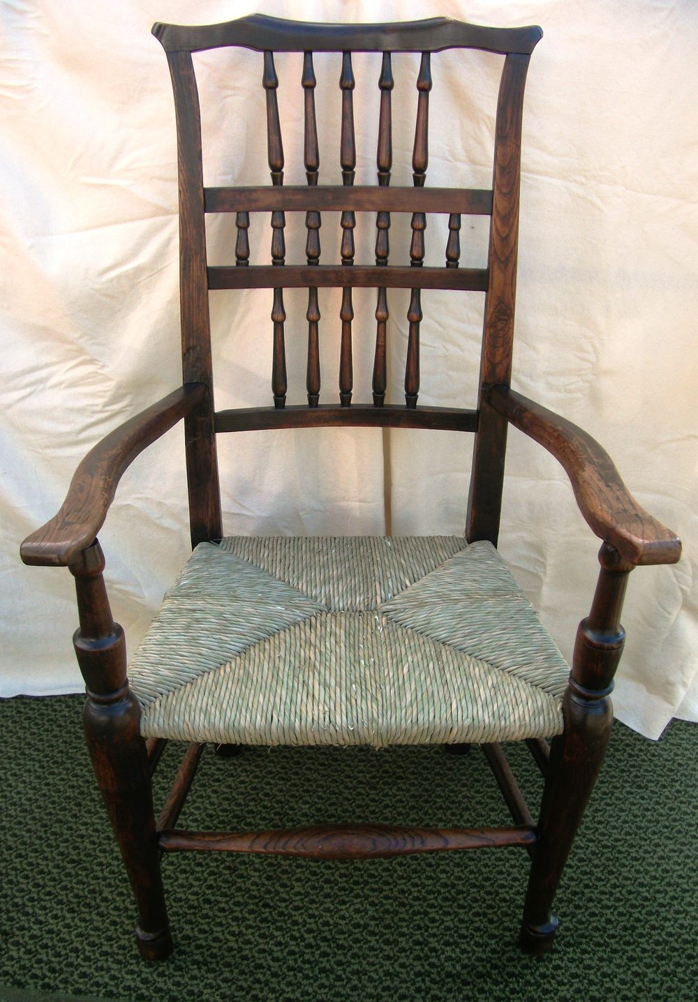 Antique Earback Spindle Armchair - Antiques Atlas