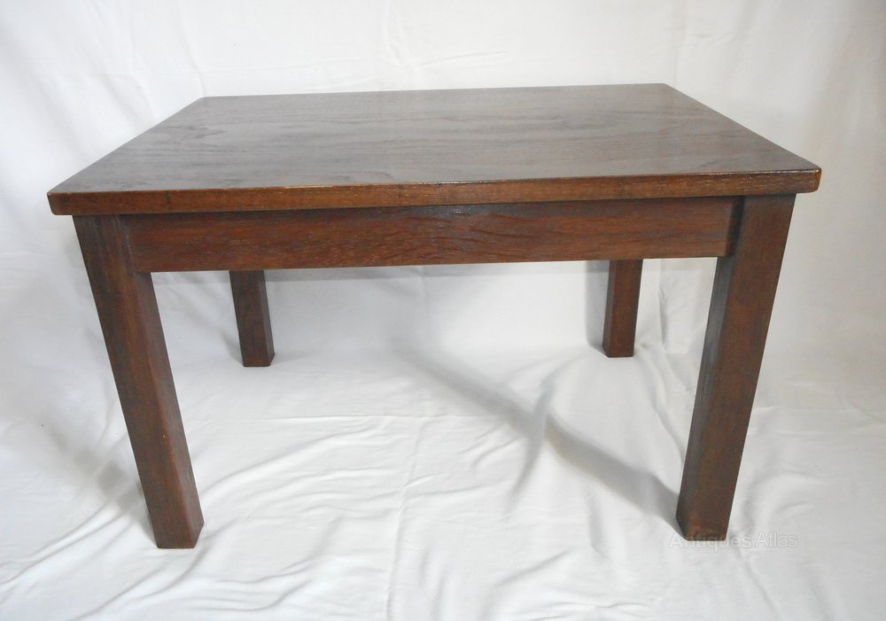 Antique Oak Coffee Table Antiques Atlas