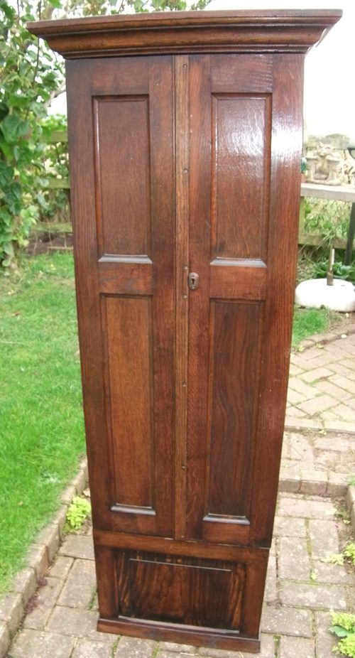 Antique Oak Gun cabinet ... - Antique Oak Gun Cabinet - Antiques Atlas