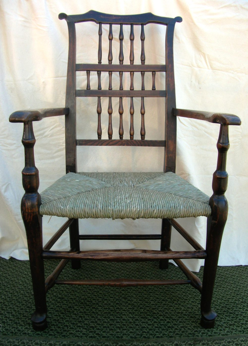 Antique Spindle Back Armchair - Antiques Atlas