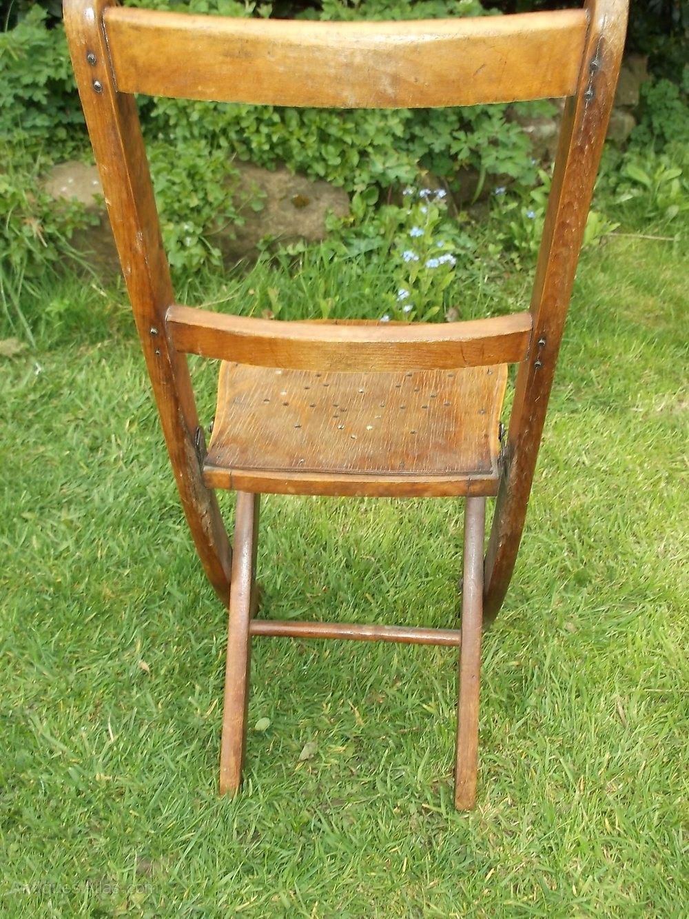 Antique Folding Childs Chair Antiques Atlas