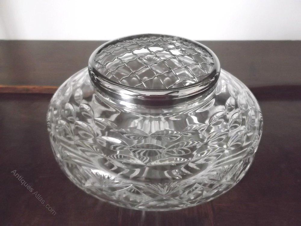 Cut Glass Rose Bowl Uk