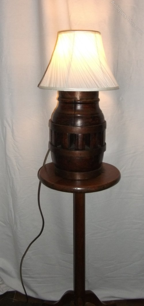 Antiques Atlas Antique Wagon Wheel Hub Lamp