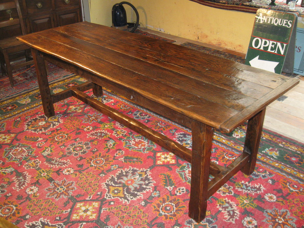 Antique Oak Table ~ Antique oak refectory table antiques atlas