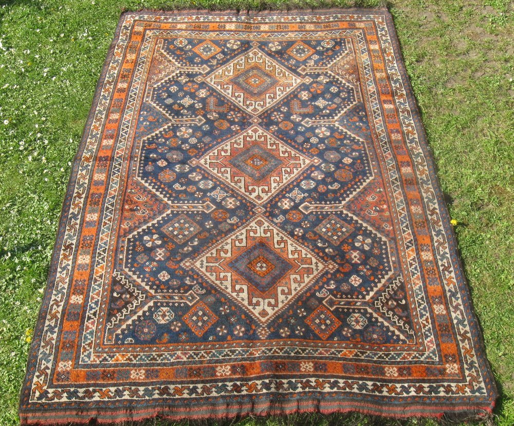 Antiques Atlas Antique Persian Kahkay Rug