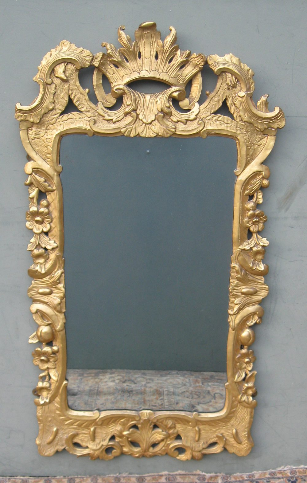 Antiques Atlas George Ii Period Giltwood Mirror C1750