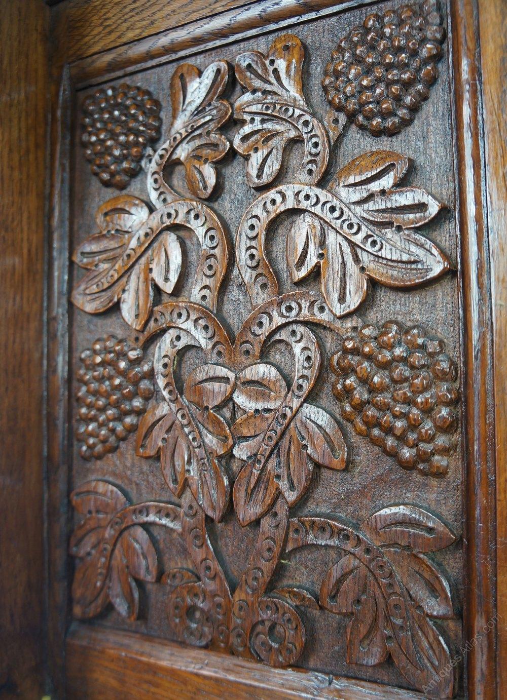 Arts Amp Crafts Gothic Revival Sideboard Dresser Antiques