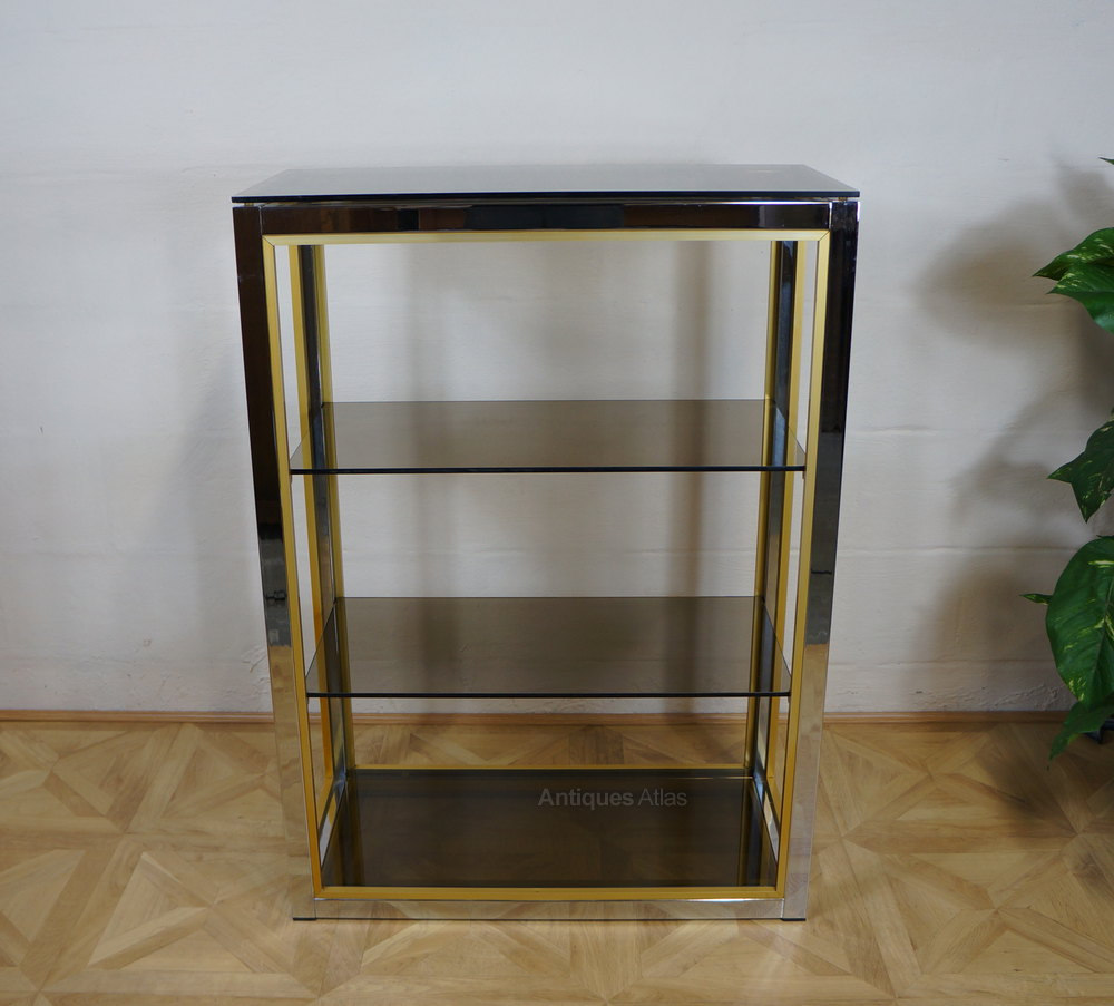 Antiques atlas harrods zevi italian etagere glass display stand - Etagere vintage scandinave ...