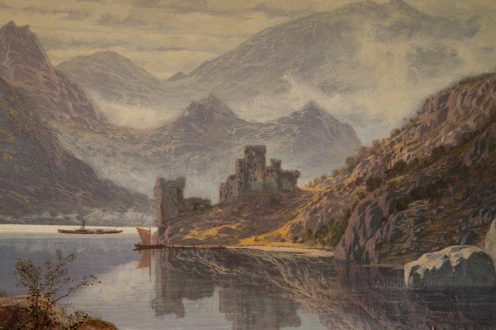 Antiques Atlas Quot Urquhart Castle Loch Ness Quot Charles