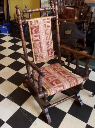Victorian Child S American Rocking Chair Antiques Atlas