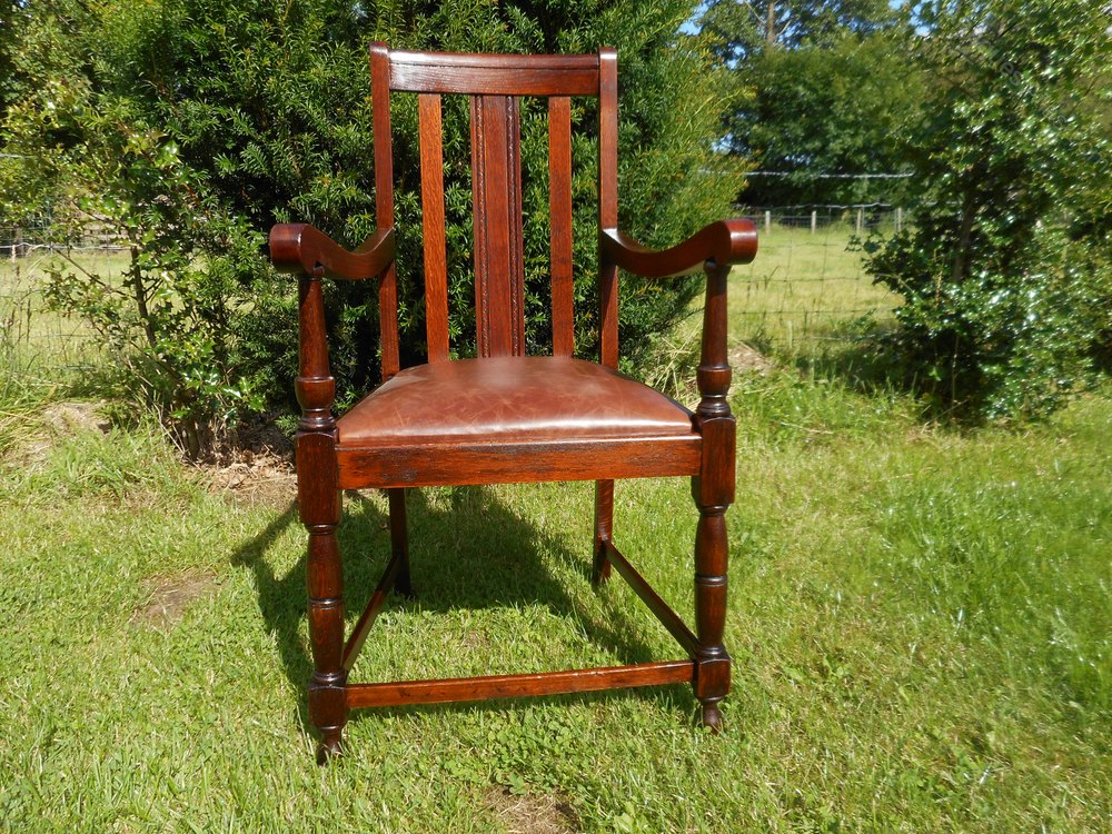 Oak Chairs With Arms ~ Oak arm chair antiques atlas