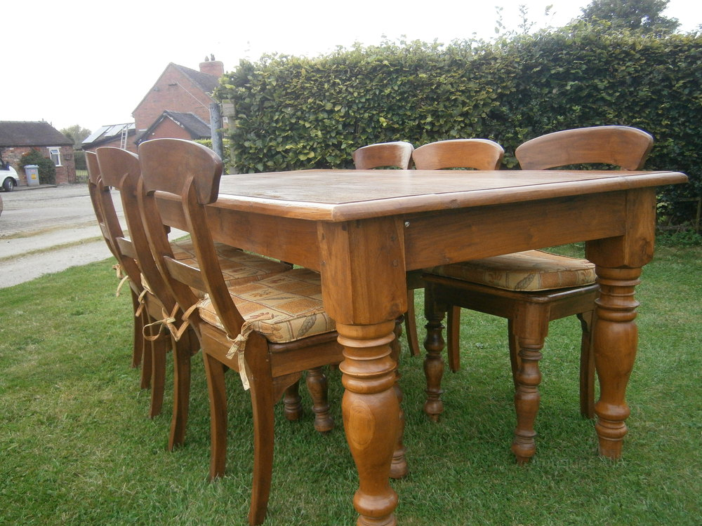 Antiques Atlas Rustic Kitchen Table Chairs