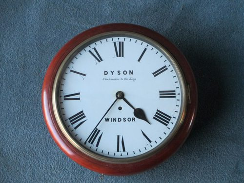 Antiques Atlas 12 Dial Clock By Dyson Of Windsor