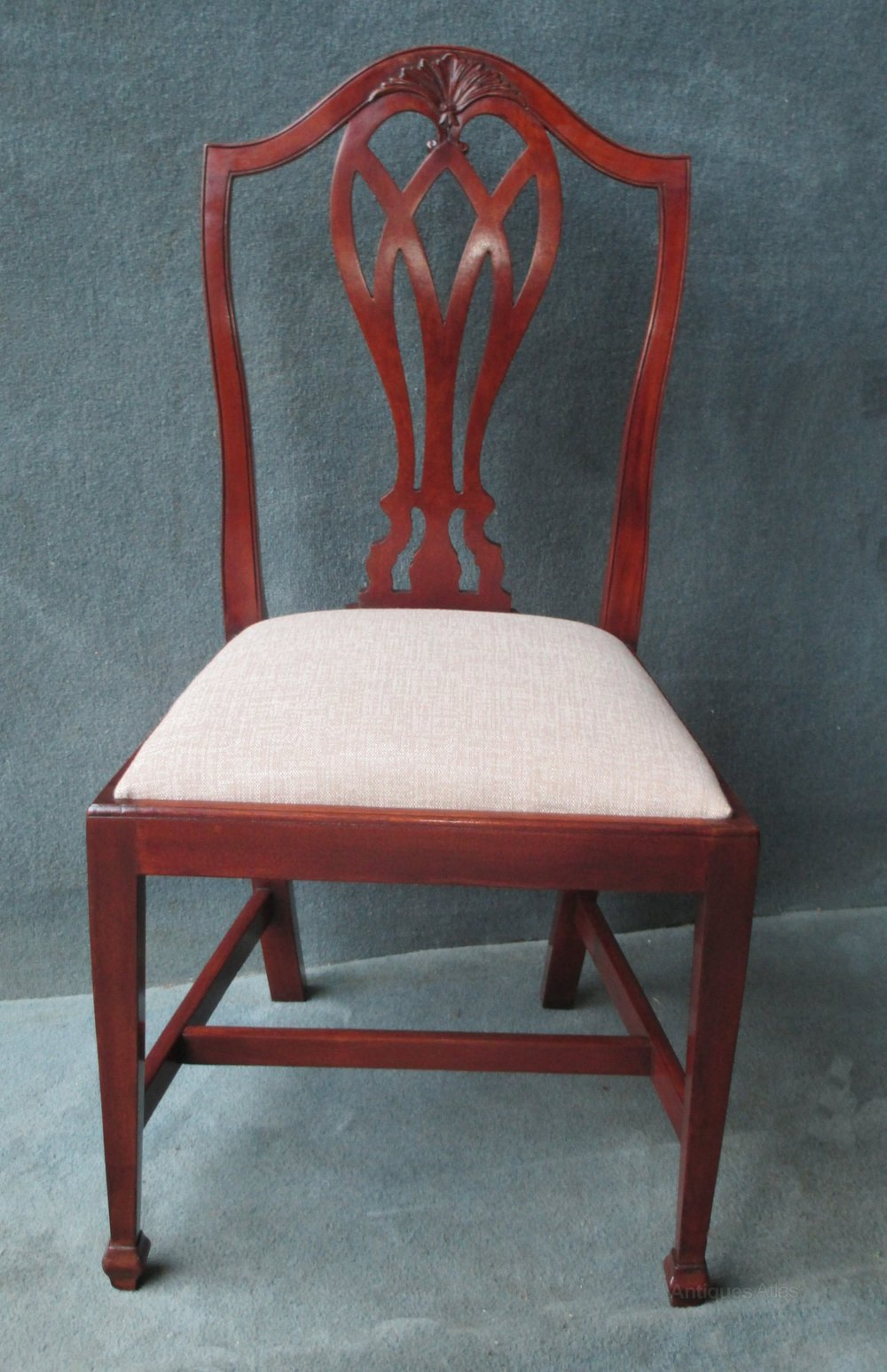 Shoolbred Hepplewhite Camel Back Chairs Antiques Atlas