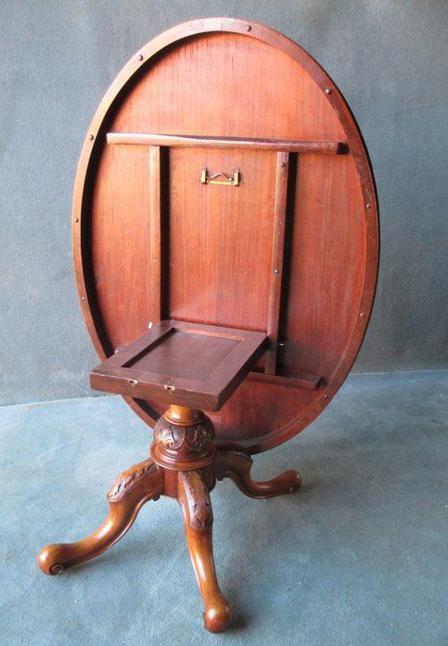 Victorian Burr Walnut Oval Loo Table Antiques Atlas