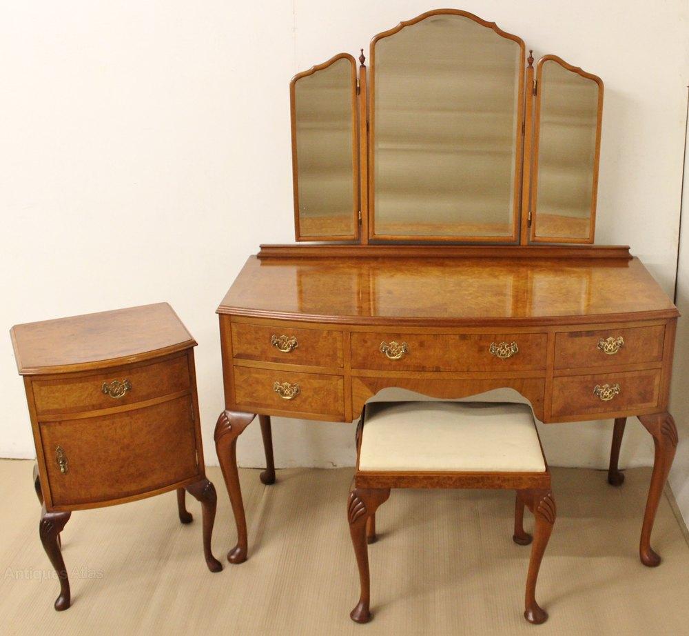 burr walnut 3 piece bedroom suite antiques atlas
