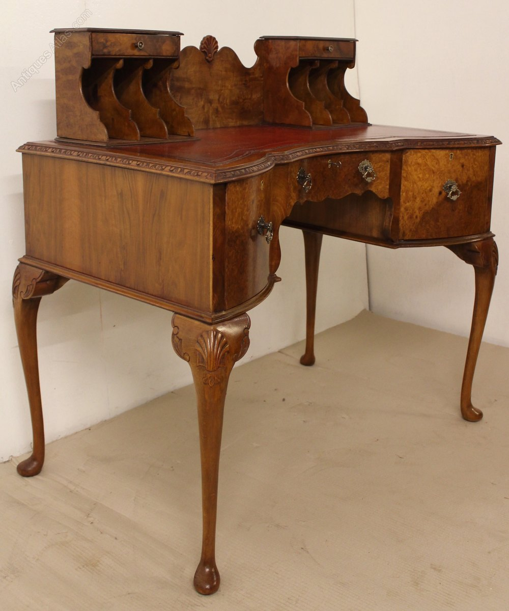 Burr Walnut Writing Desk Antiques Atlas