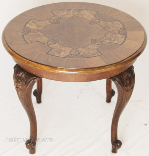 Burr Walnut Inlaid Coffee Table Antiques Atlas