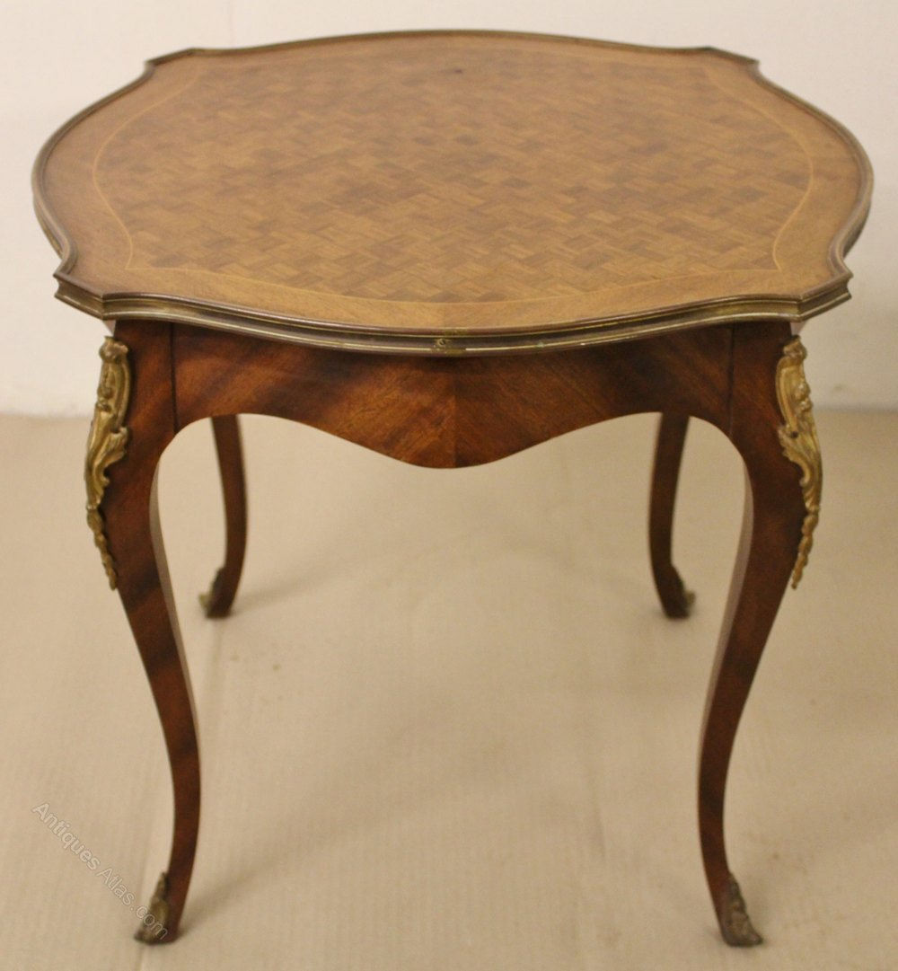 French Parquetry Coffee Table: French Parquetry Coffee Table