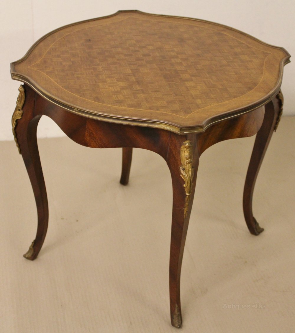 French Parquetry Coffee Table Antiques Atlas