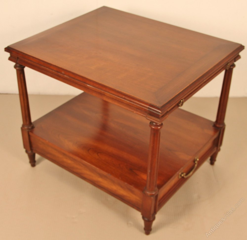 Antiques atlas pair of mahogany lamp tables lamp tables geotapseo Gallery