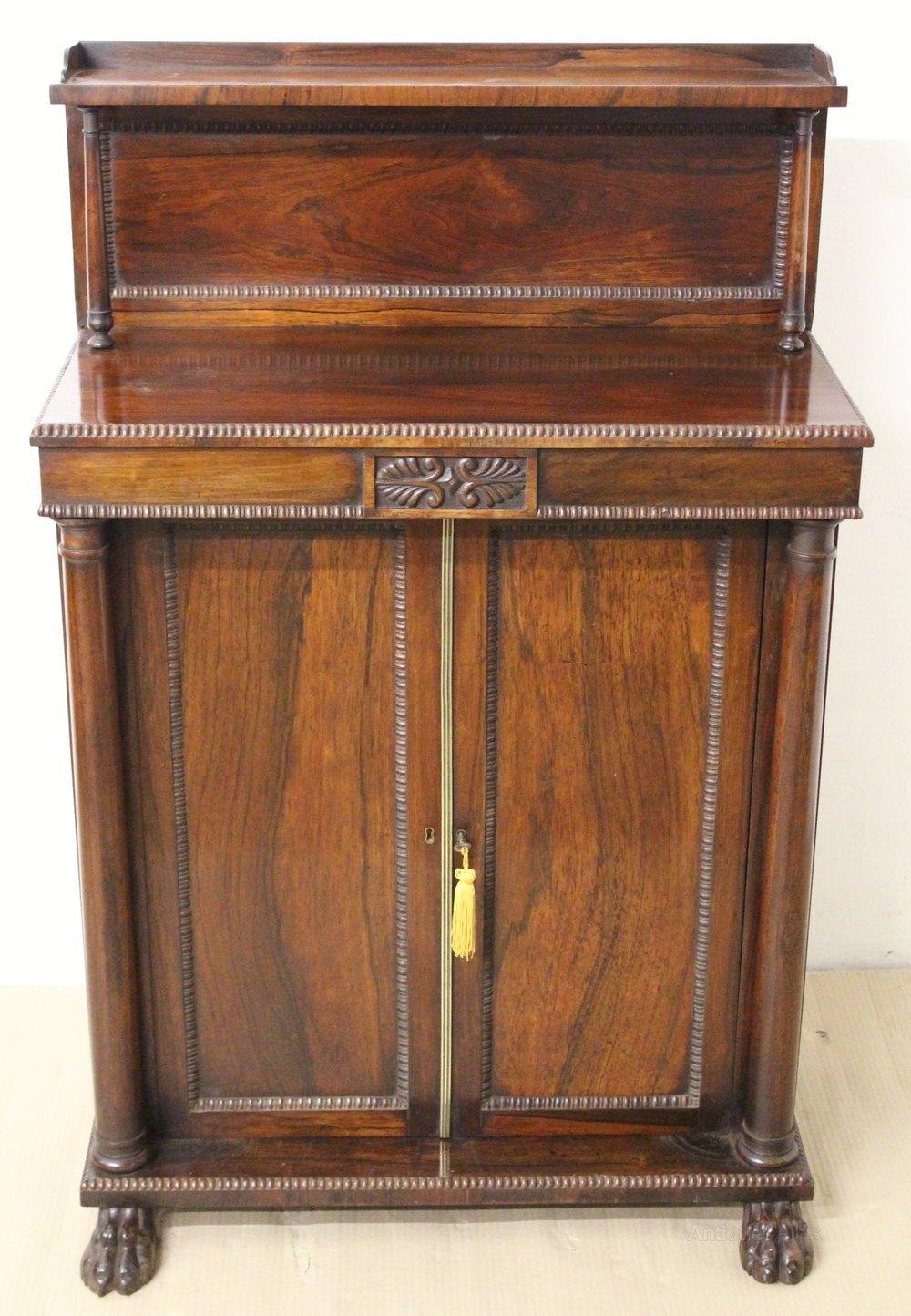 Regency Rosewood Chiffonier Antiques Atlas