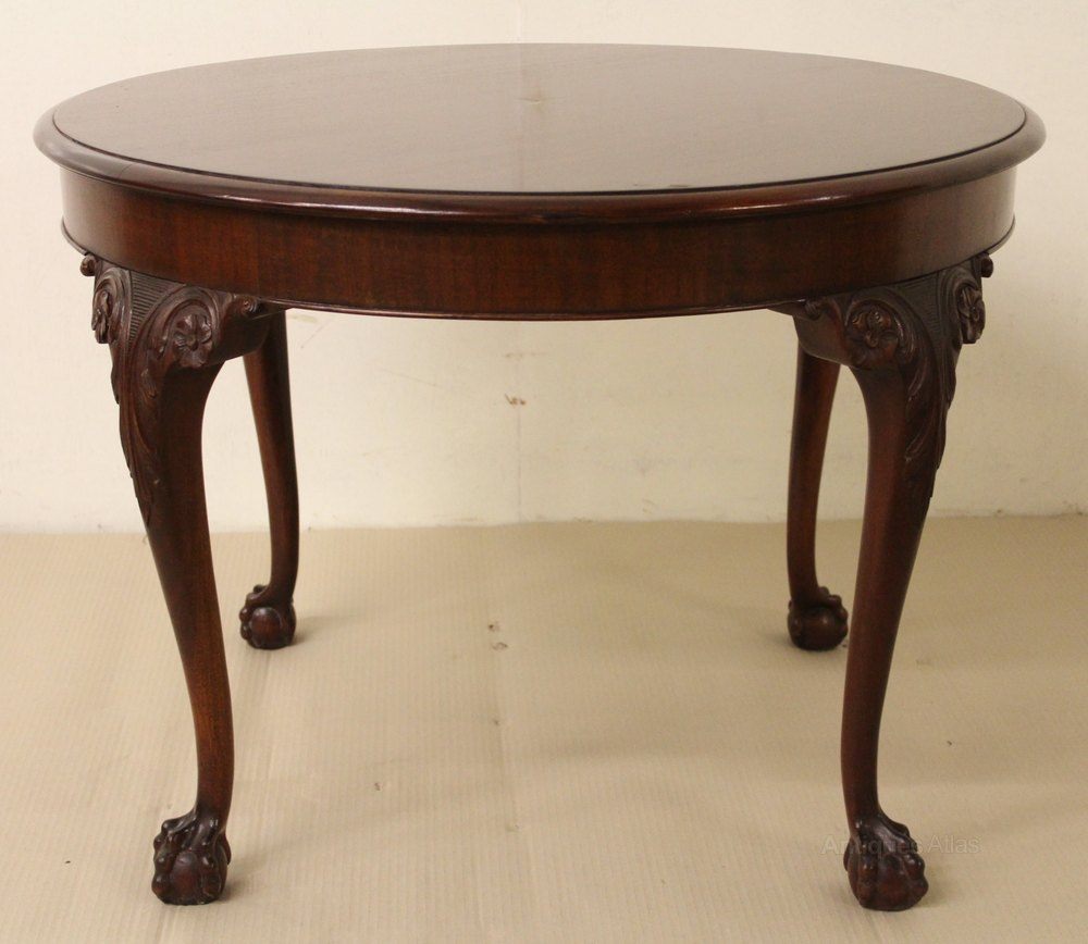 Round Mahogany Coffee Table Antiques Atlas