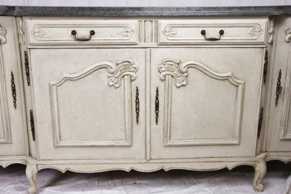 shabby chic painted french sideboard antiques atlas. Black Bedroom Furniture Sets. Home Design Ideas