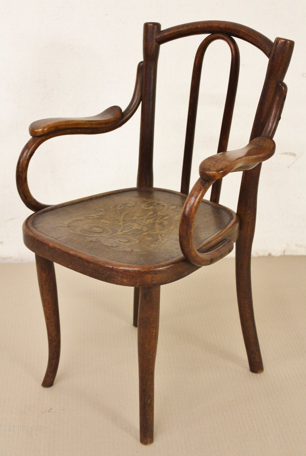 Thonet Bentwood Childs Armchair - Antiques Atlas