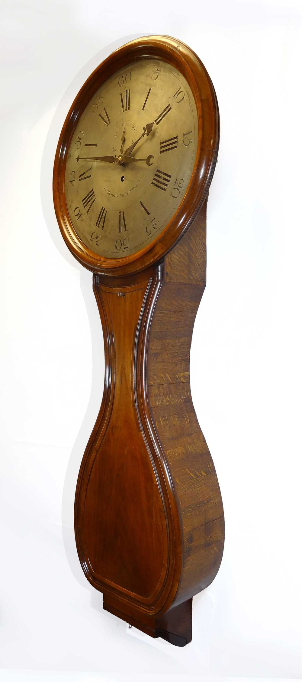 Antiques Atlas 1790s Teardrop Tavern Clock With Seconds