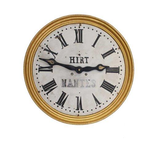 Antiques Atlas Rustic Large Striking Wall Clock By Hirt