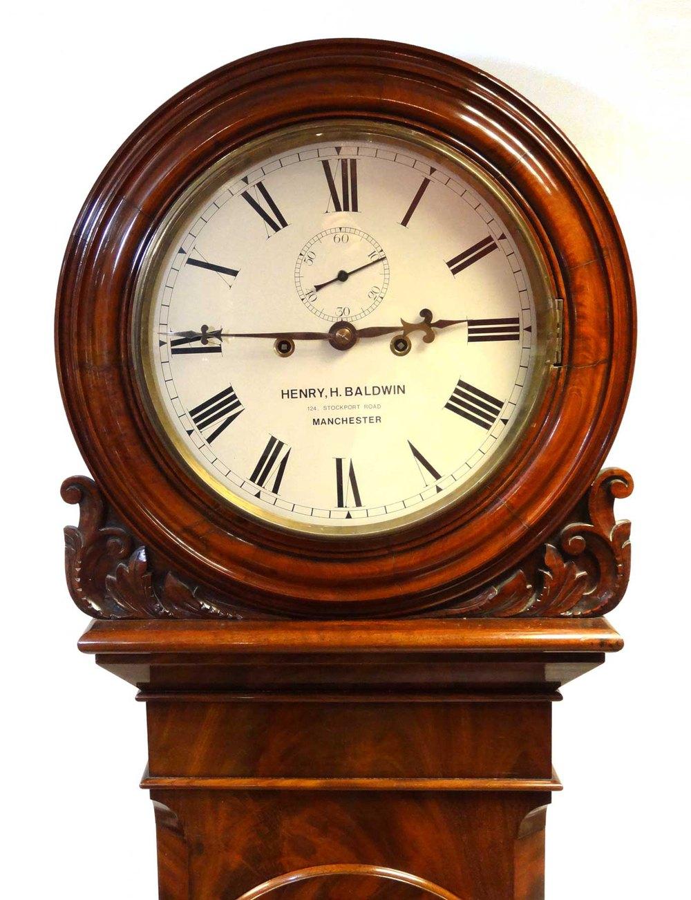 Antiques Atlas Very Large Striking Wall Clock Baldwin