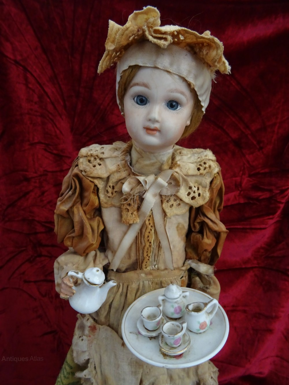 Antiques Atlas Late Victorian Musical Automaton Doll