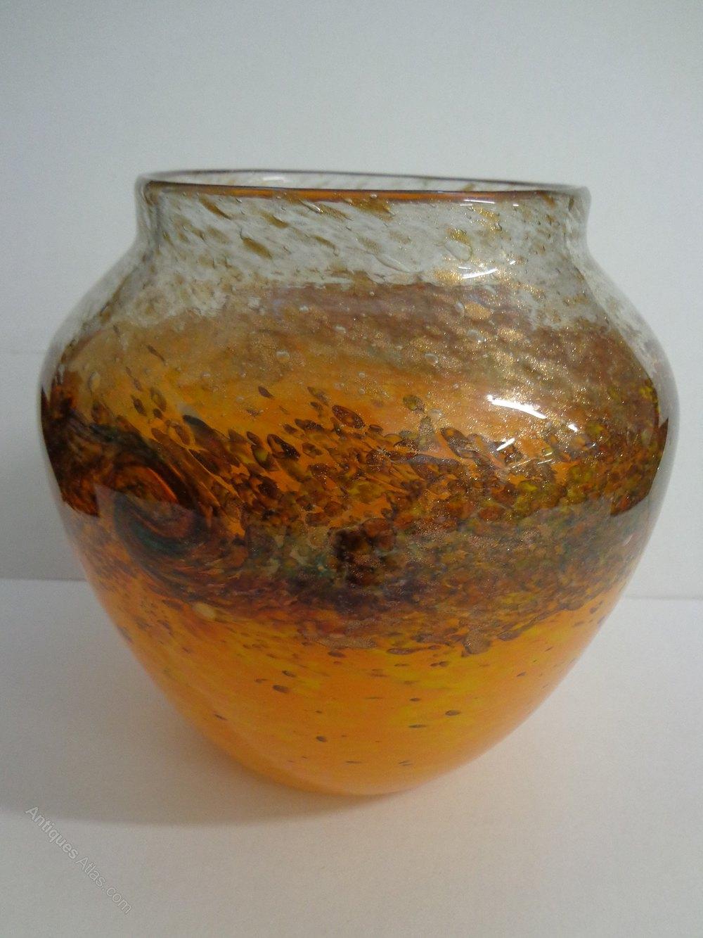 Antiques Atlas Monart Art Deco Glass Vase
