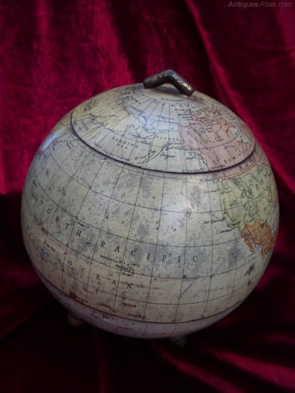 Antiques Atlas Rare Antique Huntley Amp Palmers Globe